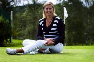 Formstark. Mimmi Hjorth visade att de senaste veckornas fina form håller i sig när hon gick den första rundan av Scandibnavian TPC på två slag under par.