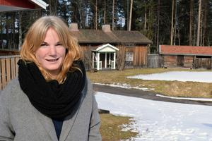Lena Ståbi svarar för kostymer och andra kläder under Skinnarspelet.