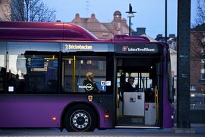 Informationssatsning. För att fler ska hitta till stadsbussarna satsar nu kommunen, Nobina och Länstrafiken på att informera. Bild: Jonas Eriksson