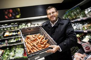 Västernorrland vill äta lokala grönsaker och lokalt kött. Jonny Lundin i projektet Smakstart ser kundernas önskemål som en morot för handlare och krögare.