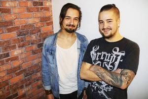 Sami och Oscar Grönfors, bröderna som öppnar Bro Burger Bar i Gävle.