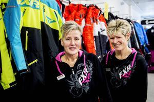 I snart nio år har Catrin Eliasson och Helena Nordin drivit butiken Heca som säljer kläder och utrusning till mc-, snöskoter- och crossåkare.