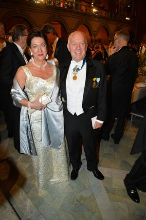 Eva Swartz Grimaldi och Salvatore Grimaldi.