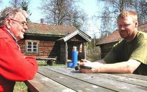 Säljs: Raststugan i fäboden Böle. Foto: Annki Hällberg/DT