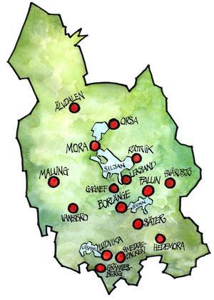 Alla kommuner i Dalarna måste få reellt inflytande i nya Svealandsregionen, slås fast i förslaget till svar till regeringen.