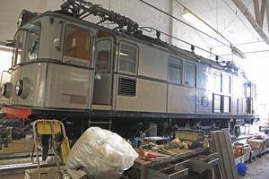 PA 27 gick i bräschen när järnvägen elektrifierades. Nu rullar den igen – för första gången sedan 1998.