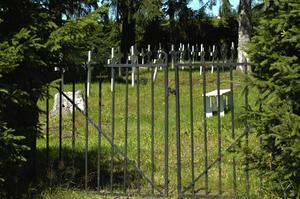 Grind. År 1951 bars den sista kistan in på begravningsområdet. Foto:Berndt Norberg