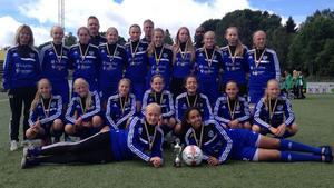Laget som efter vinst med 2-1 mot Tölö IF knep bronset i Mästarcupen.