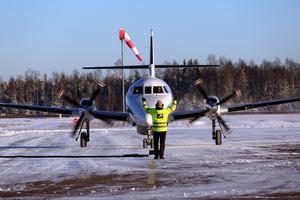 Den reguljära trafiken fungerar bra på Mora-Siljan flygplats med bolagen Braflyg och AIS.