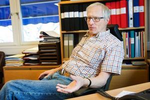 Harry Sjöström, ordförande  i Odenskogs intresseförening.