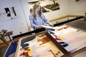 Konstnären Karin Mamma Andersson är en av de jurymedlemmar som väljer ut konsten till det nya konstprojektet Moving Art Project. ARKIVBILD.