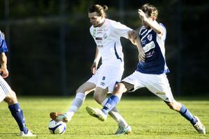 Robert Lundström hade del i alla SFF:s mål mot Delsbo. Han gjorde två själv och passade till det tredje då SFF vann med 3–1.