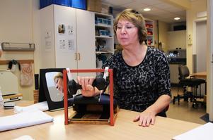 – Jag visste ingenting om arbetsterapi innan. Nu tycker jag att det verkligen har hjälpt mig, säger Nathalie Wirström.