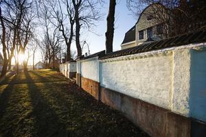 1. Arkitektur och trädgårdsavgränsning hör i hop.