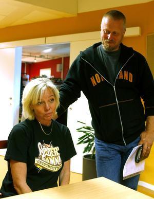 Kläckte idén. Ann Lindberg och Ulf Karlsson känner sig nöjda med Verkstäderna.