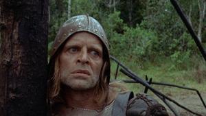 Klaus Kinski som Lope de Aguirre 1972.