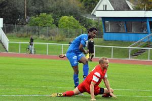 Mahamat Sougui sätter här 1–0 för Sollefteå.