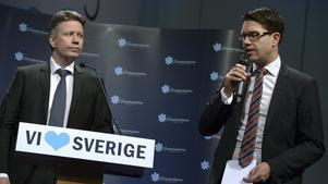 David Lång och Jimmie Åkesson.