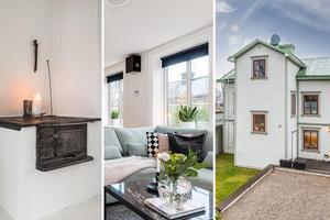 Huset på Vallgatan på Östermalm i Sundsvall har fått över 7 000 klick på Hemnet. Foto: Länsförsäkringar fastighetsförmedling