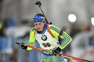 Hanna Öberg gjorde ett bra lopp i Ruhpolding.