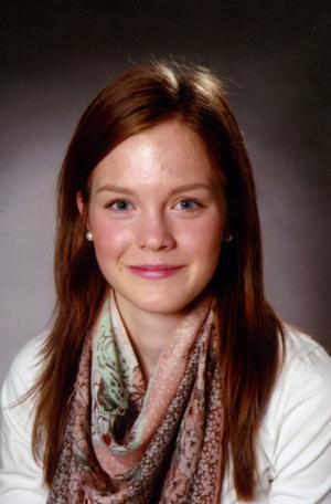 Emelie WretmanKorpstigen i Borlänge. Hon går andra året på naturvetenskapliga programmet vid Dahlandergymnasiet i Säter.