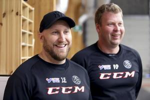 Jens Eriksson och Pär Palm kommer träna a-laget kommande säsong.