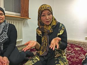 Fozia Ebrahimi ser sig som en röst för många av de afghanska kvinnorna i Västerås.