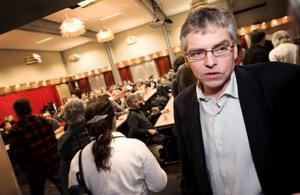 Milkos styrelseordförande Per Åsling: Mejeriet i Östersund kommer inte att drabbas  i nuläget. Foto: Håkan Luthman