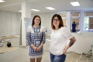 Josefine och Marie Öberg, som öppnar butiken 137 kvadrat är mor och dotter, men de är inte oroliga för att tröttna på varandra.