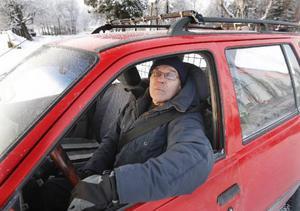 Efter 46 år vid ratten och över 100 000 prickfria mil har man lärt sig att vara försiktig, säger Christer Norberg från Orrviken.