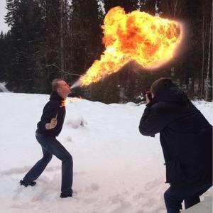Fagersta-posten plåtar draco spiritus inför talang 2014.