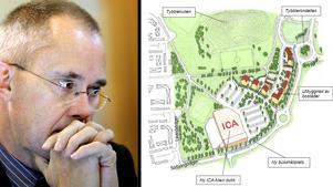 Staffan Werme är inte nöjd med planerna över ett nytt Ica Maxi i Tybble. Vad tycker du om etableringen? Diskutera!