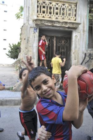 En stor del av behållningen med Beirut består i mötet med stadens invånare.