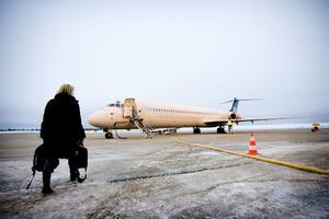 Den så kallade rullbanan på Örnsköldsviks flygplats finns med på beläggningslistan för 2016.