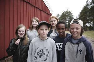 Thea Friberg, Lia Ors, Gustav Holvall, Olivia Chytraeus, Yonatan Ghebrengus och Manne Sörlin gick i årskurs 6 på Bergetskolan i Orsa när förbudet anmäldes i våras.