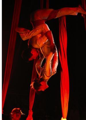 Kineserna var bäst. Gao-Chen hette akrobat gruppen från Kina. Foto:Staffan Alberts