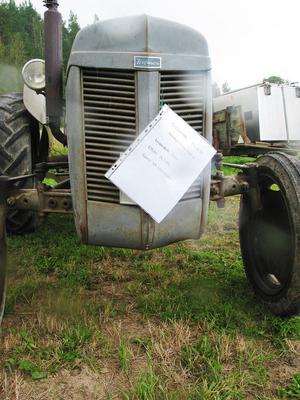 Sörängs allra första traktor.
