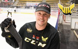 Tobias Holm har chansen att leda sitt lag till SM-guld i helgen.