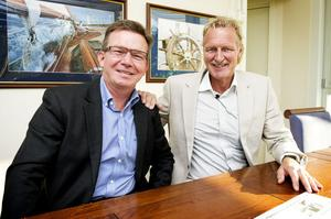 Bengt Norell, vd för Malux och ägaren Jörgen Schulze.