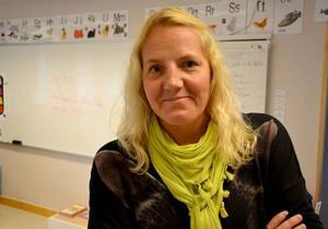 Ulrika Eriksson är hedrad över nomineringen till Guldäpplet.