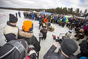 Svarthålet Racing visade upp ett antal pulsjetdrivna ekipage. Här en jetdriven spark.