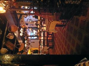 Klassisk inredning. Mysig atmosfär på Piazza Di Spagna.