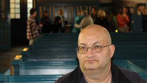 Bernt-Ove Johansson från Falun var en av de som satt i bänkraderna.