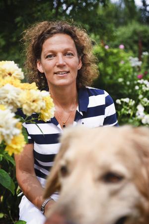 Malin Eriksson, VD på Wij Trädgårdar vill visa att trädgårdar har en helande kraft.