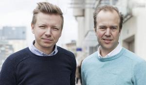 Emanuel Karlsten och Olle Lidbom startar