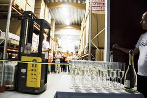 Det var med pompa och ståt som RFSU:s nya lagerlokal invigdes på torsdagen.