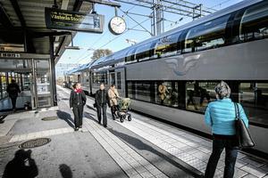 En bra och fungerande kollektivtrafik gör mycket för att hjälpa klimatomställningen i framtiden. Ju fler som slipper att ta egen bil när de pendlar eller reser privat dessto bättre är det.Foto: Håkan Risberg