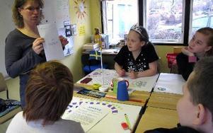 Immanuelskolan har idag 78 elever från förskoleklass till nian. Skolan ligger centralt på Östermalm. Rektor Kerstin Kerstell ser nu ett ökat intresse. Nästa höst är platserna upp till femman så gott som fullsatta.Foto: KARIN SUNDIN