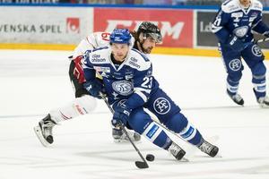 Alex Friesen toppar hockeyallsvenskans poängliga. Foto: Daniel Eriksson/BILDBYRÅN
