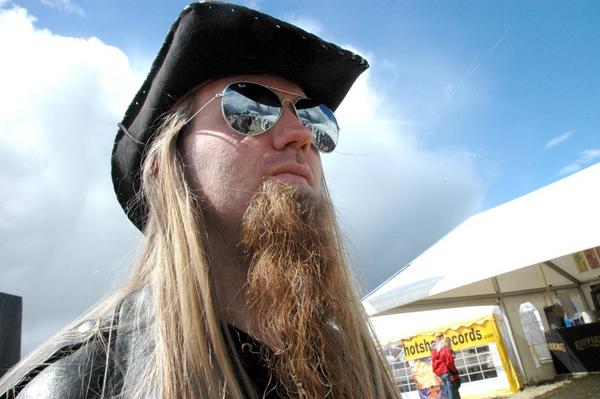 Marcus Edvardsson - strax efter den berömda Thorspelningen.